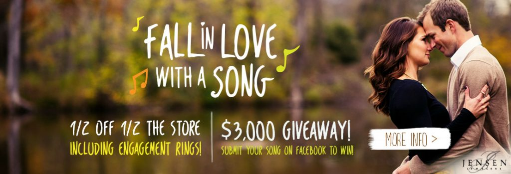 Fall in Love with a Song Sale