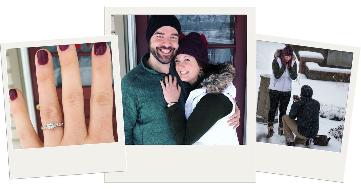 Jessica & Aaron's Modern Love Story and Romantic Gull Lake Proposal