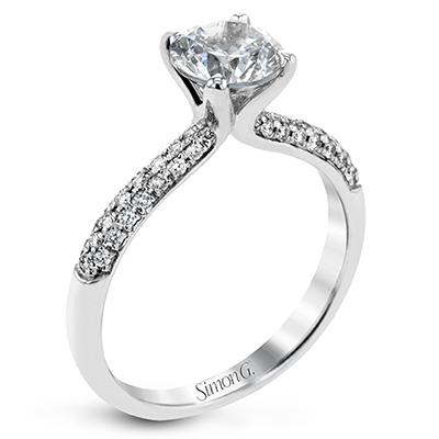 Classic Romantic Solitaire Engagement Ring