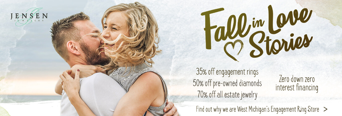 Fall in Love Stories - 35% Off Engagement Rings
