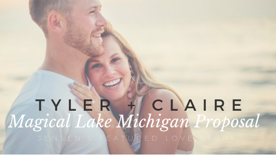 Tyler and Claire's Lake Michigan Proposal