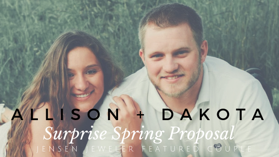 Allison + Dakota's Easter Egg Hunt Proposal