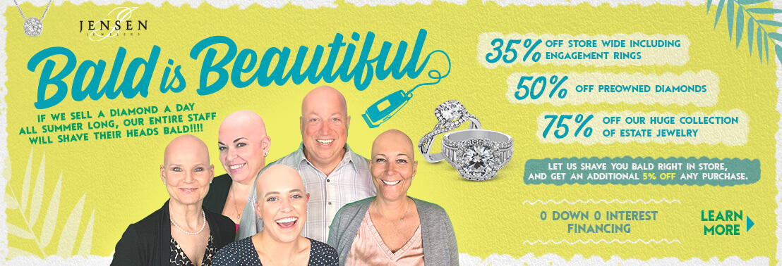 bald is beautiful sale promotion