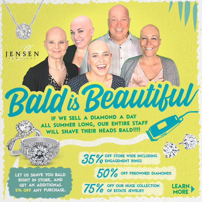 bald is beautiful sale