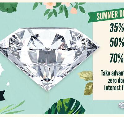 $5,000 Diamond Summer Giveaway