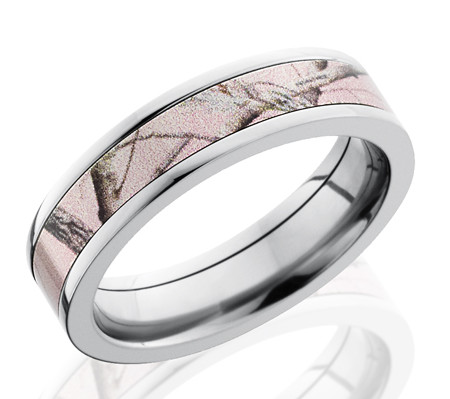 pink camo wedding rings 295 - Mossy Oak Wedding Rings